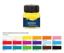Stoffmalfarben für dunkle und helle Stoffe, JAVANA Stoffmalfarben