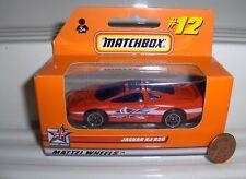 MATCHBOX UNION JACKS JAGUAR XJ220 MINT BOXED*