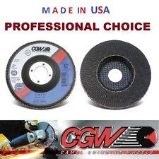 "4-1/2"" X 7/8"" CGW Silicon Carbide Flap Disc Wheel, Choice of Grit"