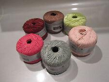 SMC Pertinio 82% Cotton, 14% Viscose and 4% Lurex Yarn - choice of 6 colors
