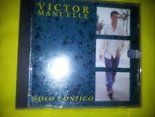 VICTOR MANUELLE - SOLO CONTIGO (1994, SONY TROPICAL). CD