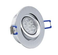 28345.90 - Lámpara empotrable 4134 ALUMINIO incl. LED GU10 8w 2700k regulable