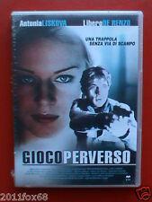 dvd film antonia liskova gioco perverso libero de renzo maurizio longhi thriller