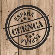 Vinilo de Corte Cuenca Pegatina Cuenca España 10 cm Adhesivo Pared Tablet Coche