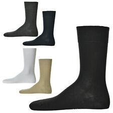 Hudson 1 Paar Herren Socken, Relax Cotton Strumpf, ohne Gummifäden, Einfarbig