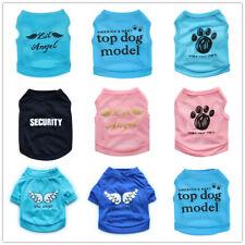 Small Medium Boy Dog Shirt Girl Dog Vest Summer Spring Clothing Cat Clothes