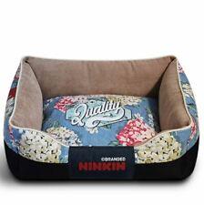 Canvas Pet Dog Cat Sofa Bed Cover Removable Mat Cushion House Blue Size S,M,L