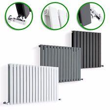 DESIGNER RADIATORS Horizontal Flat Panel Columns Modern Central Heating UK