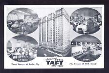 Usa New York Hotel Taft multiview early Ppc
