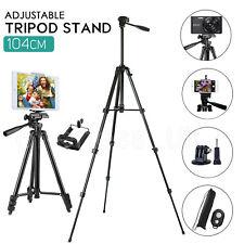 Universal Telescopic Camera Tripod Stand Phone Holder For iPhone Samsung Sony UK