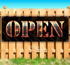 Open Advertising Vinyl Banner Flag Sign Many Sizes Usa