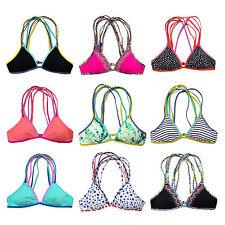 Victoria's Secret Swim Top Triangle Bikini Strappy Crossback Wireless Xs S M New