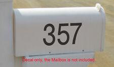 Custom Number Car House Mailbox Boat Sticker Vinyl Decal