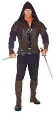 Assassin Adult Mens Costume Villain Hooded Vest Evil Theme Halloween Party