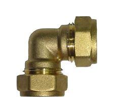 Brass CxC Compression 90 Degree Elbows