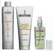 kit lavaggio e ristrutturazione capelli extension veri,olio di argan per morbide