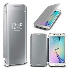 Coque Clear-View pour Samsung S8 avec rabat translucide Etui Housse