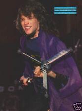 JON BON JOVI PINUP rock vtg 80's Hair Metal