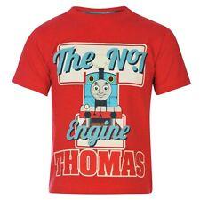 Niños Camiseta | Thomas y sus Amigos | Locomotora Rojo | Tamaño 92-104