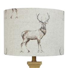 Glencoe Stag Deer Country Drum Lampshade Lightshade