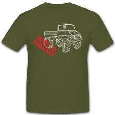 Universal motor dispositivo made in Germany Bundeswehr camiones u404-t shirt #7156