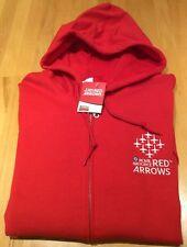 Royal Air Force Red Arrow Zip Hoodie   Licensed product