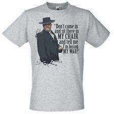 Gris Alfie Soloman cita T-Shirt pálida anteojeras Camden Town Gang Camiseta