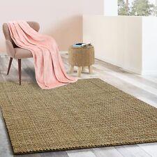 Jute-Teppich | Natur Teppich Urbano | Bouclé | Handgewebt | 6 Größen | 4 Farben