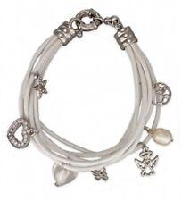 Leder-Armband 7-reihig Beads, Farbwahl