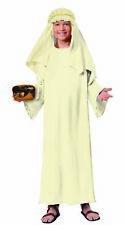 Biblical Times Religious Ivory Wiseman Costume Robe Child Christmas Manger Boys