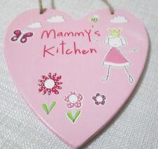 Sentimental Wooden Heart Hanger / Plaque - 13 cm - Mammy's Kitchen