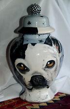 Custom Boston Terrier Pet Urn Dog cremation Any Breed medium bulldog one of kind