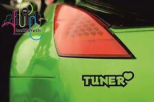 A 700 -  Tuner mit Herz Aufkleber Sticker JDM OEM DUB Autoaufkleber Tuning