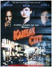 KANSAS CITY Affiche Cinéma / Movie Poster ROBERT ALTMAN