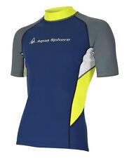Aqua Sphere BLAZE Rash Guard Herren UV-Shirt (dark-grey) NEU