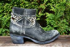 Sendra Gr.37 Stiefeletten Cowboy Boots Vintage Style Kurzstiefel