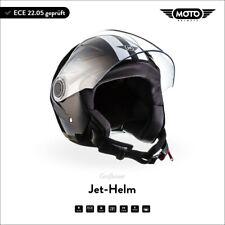 Casque Demi-Jet Vespa Scooter Quad Pilote MOTO Helmets U52 Racing B XS S M L XL