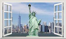 NUOVO yory Statua della Libertà Magic Finestra Wall Art POSTER Autoadesivo V 1 *