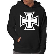 Eisernes Kreuz Kapuzenpullover | Iron Cross | Chopper | Motorrad | Gang | Tuning
