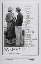Annie Hall Vintage Movie Poster Película A4 A3 Art Print Cine