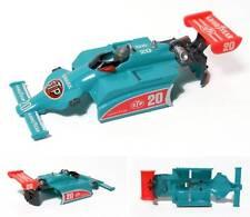 1983 TYCO Indy F1 Slot Car Patrick #20 Medium BLUE BODY