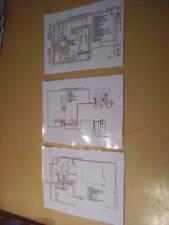 VW color el diagrama de cableado conjuntos-Baywindow T2, Escarabajo, Karmann Ghia & ahora Splitty