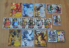Lego® Ninjago™ Serie 4 aus allen Sonderkarten Nr. 1 - 252 Karten aussuchen