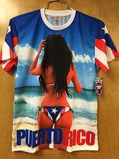 PUERTO RICO RICAN T-SHIRTS GIRL with BIKINIES