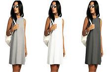HIT Damen Sommer Kleid Hemdkleid Casual Blusenkleid Mini kurz HOT S/M L/XL (663)