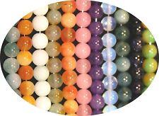 8mm Jade Stone Round Loose Beads