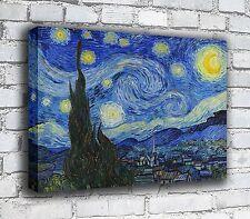 The Starry Night - Van Gogh - Canvas