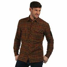 Regatta Tasman Mens Fleece Lined Long Sleeved Country Check Shirt £22.99 Free PP