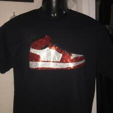 Jordan Sneaker Glitter Design Shirt
