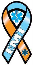 "4""-18"" EMT emergency medical technition ems paramedic Car Ribbon Vinyl Decal"